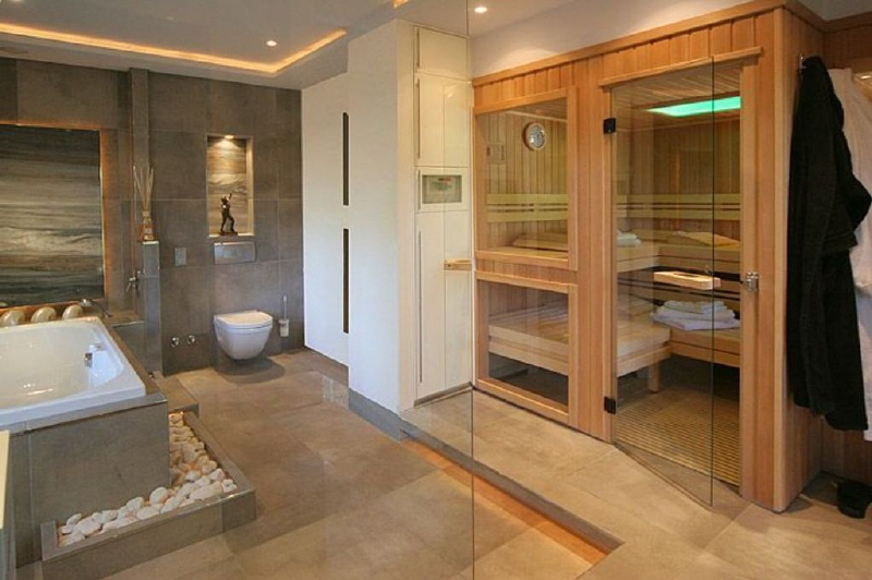 Sauna Ideen Bad - Wohndesign -