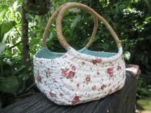 Decoupage_water_hyacinth_bag_Basket