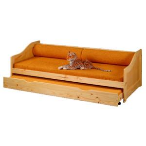 postele z masivu jsou k dispozici v mnoha provedení