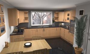 Komfortní kuchyni vám může závidět kdejaká návštěva /