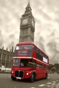 216433-aged-big-ben-with-a-classic-london-bus-in-red