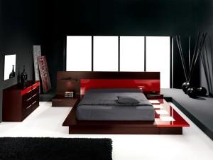 Moderní a příjemná ložnice může mít nejrůznější tváře /