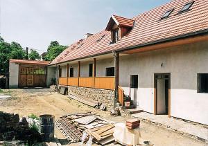 Rekonstrukce domu vyžaduje zkušenosti a profesionalitu /