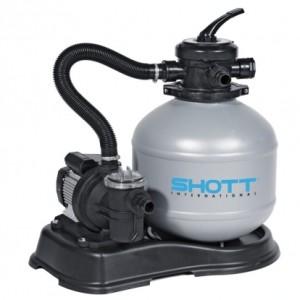 Písková filtrace zajistí spolu s chemií nejlepší parametry vody /