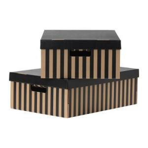 Okrasné a úložné krabice spojují styl s efektivitou /