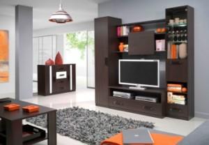 Obývací stěny jsou základem každého obýváku /